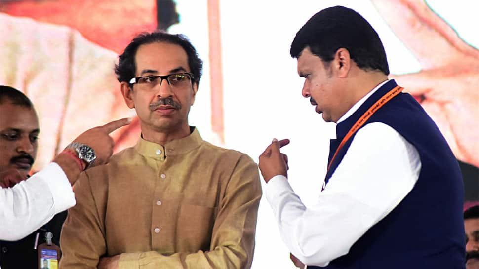 NCP cartoon takes potshot at BJP-Shiv Sena's war of words over seat-sharing in Maharashtra
