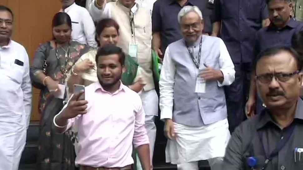 Nitish Kumar re-elected as JDU national president, to remain at helm till 2022