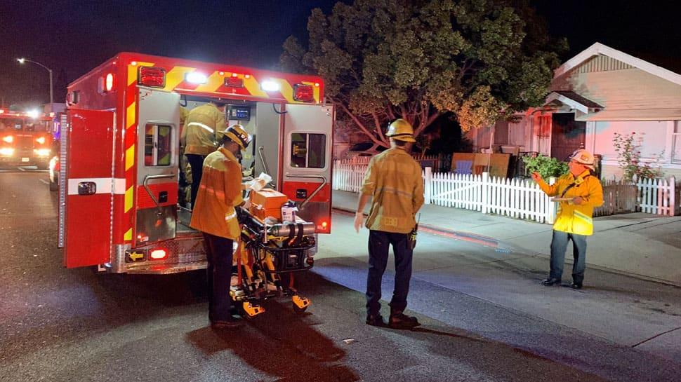 Three killed, nine injured in shooting at California in US