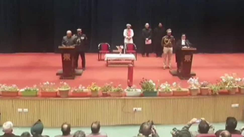 Radha Krishna Mathur takes oath as first Lieutenant Governor of Union Territory of Ladakh