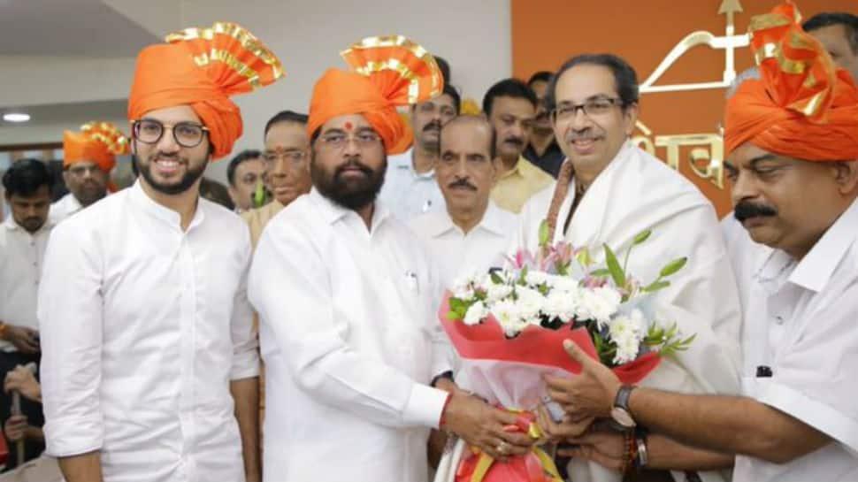 Eknath Shinde elected leader of Shiv Sena legislative party in Maharashtra