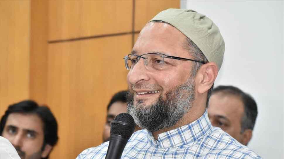 Asaduddin Owaisi takes dig at Shiv Sena-BJP power tussle in Maharashtra, asks 'Is 50-50 new biscuit'
