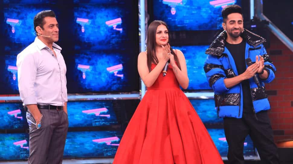 Bigg Boss 13 Day 33 Written Updates: Ayushmann Khurrana, Yami Gautam grace mid-season finale