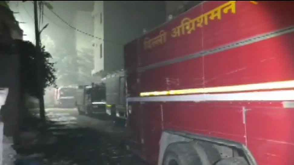 Fire breaks out at a factory in Delhi, three firefighters injured