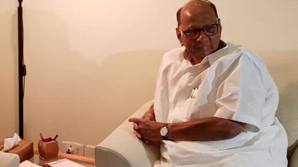 NCP chief Sharad Pawar meets Sonia Gandhi, says 'responsibility of BJP-Shiv Sena to form govt in Maharashtra'