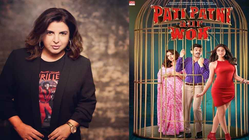 'Pati, Patni Aur Woh' team wraps up song choreographed by Farah Khan