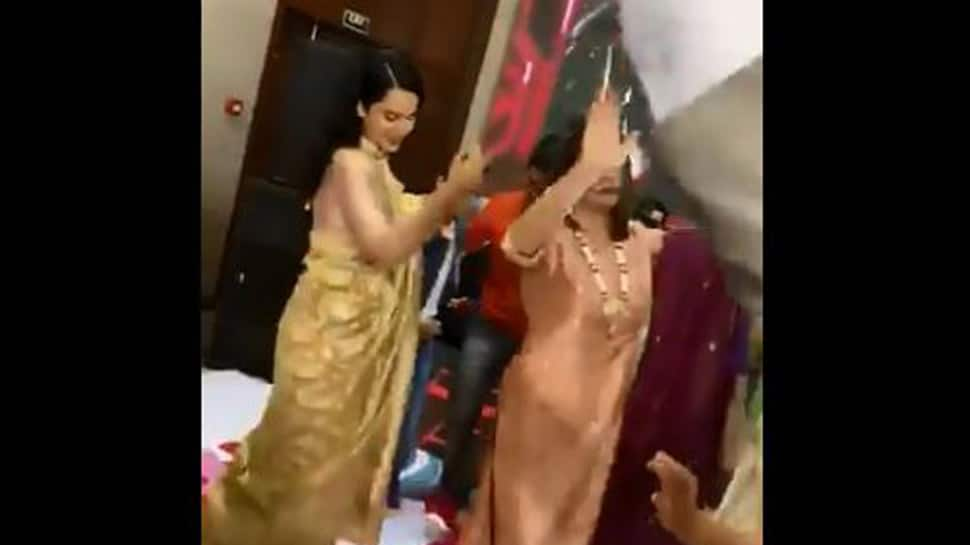 Kangana Ranaut performs on brother Aksht's engagement ceremony- Watch