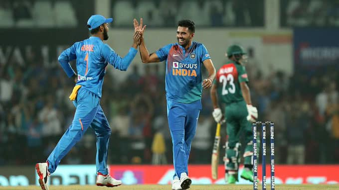 3rd T20I: Deepak Chahar takes six-fer as India beat Bangladesh to clinch series 2-1