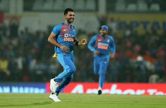 Deepak Chahar creates record for best bowling figures in T20I