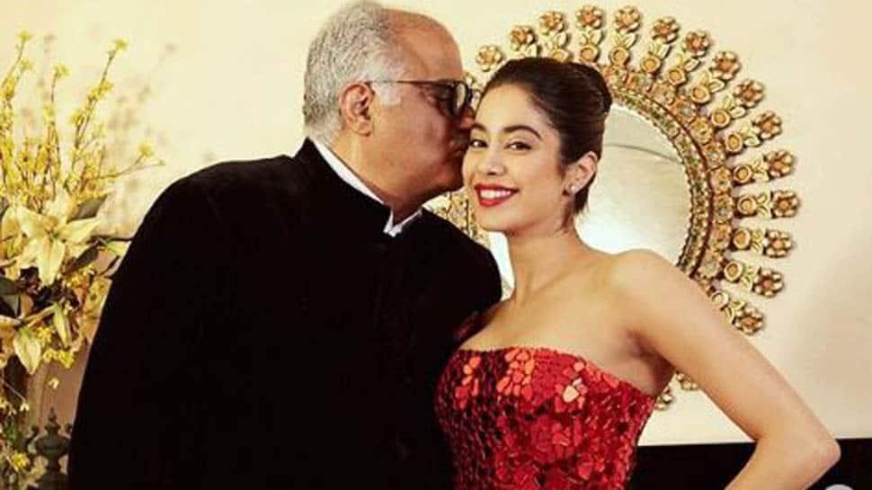 Janhvi Kapoor's birthday wish for dad Boney Kapoor is winning the internet