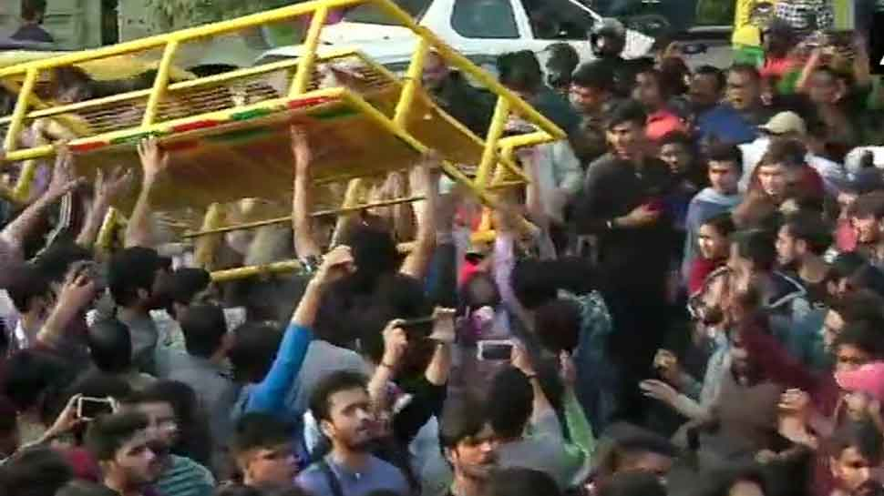 HRD Ministry assures protesting JNU students of quick action to resolve their problems