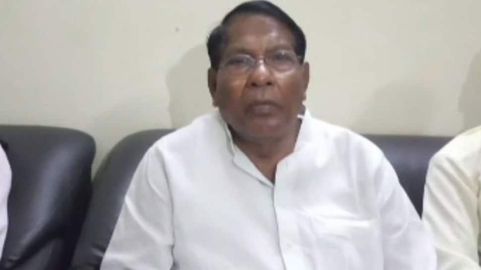 Jharkhand Assembly Election: Rameshwar Oraon files nomination, KN Tripathi holds road show