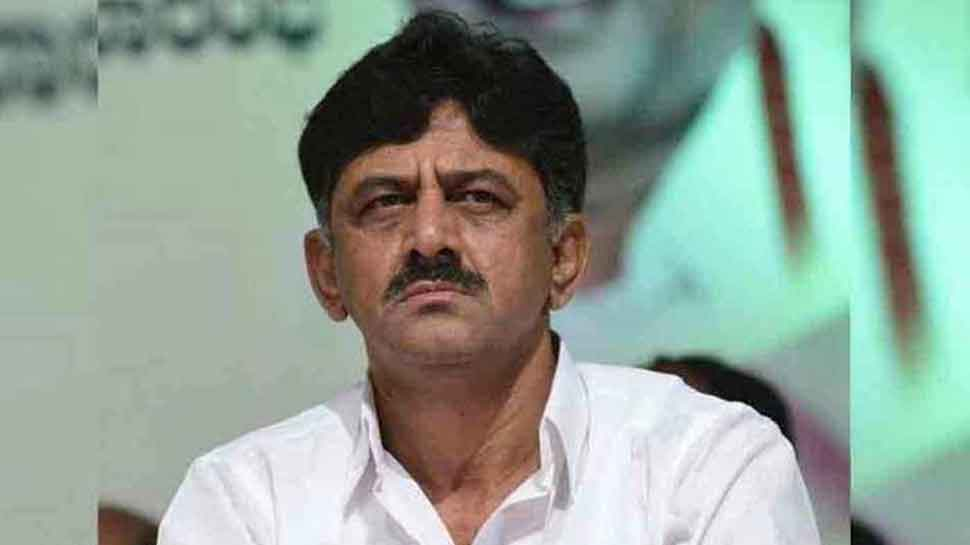 DK Shivakumar admitted to Bengaluru hospital after complaint of chest pain