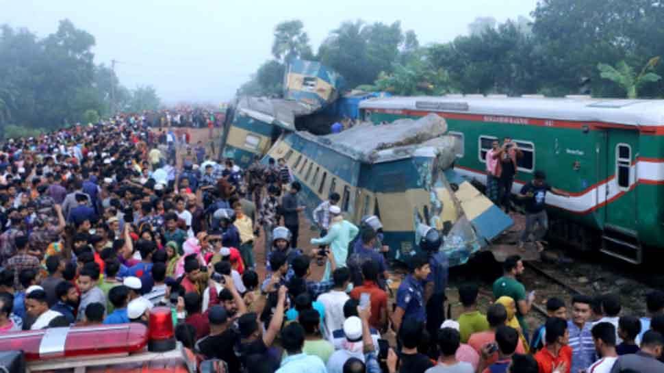Bangladesh: 16 killed, 40 injured in head-on train collision in Brahmanbaria district