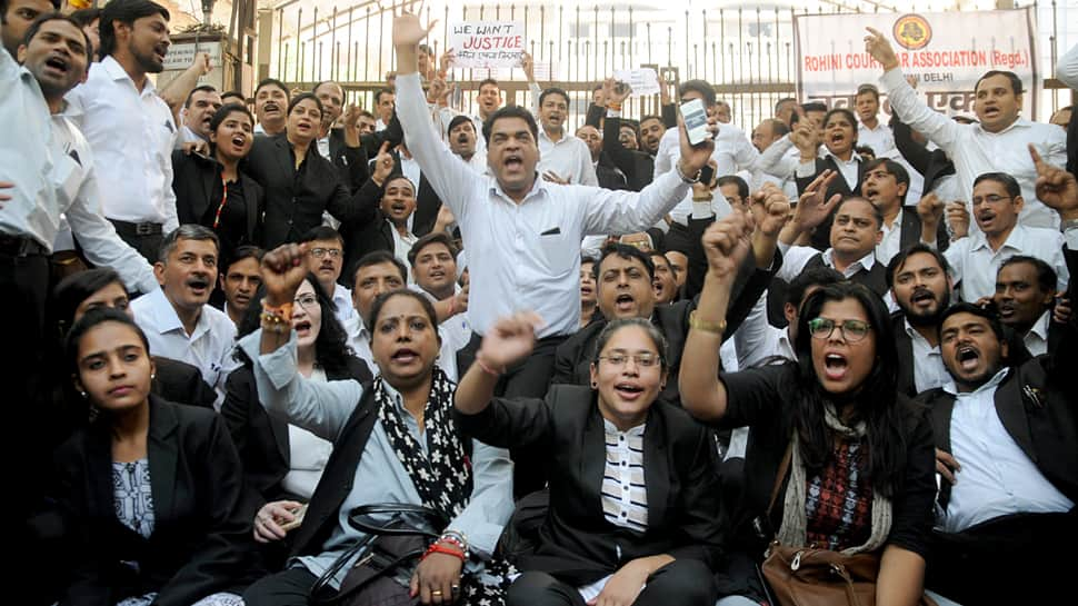 Tis Hazari court clash: Lawyers to continue protest, abstain from work in Delhi district courts