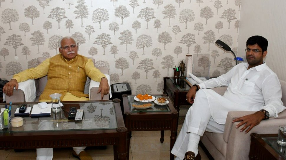 Haryana cabinet expansion on Thursday, BJP ally Jannayak Janata Party JJP likely to get two berths