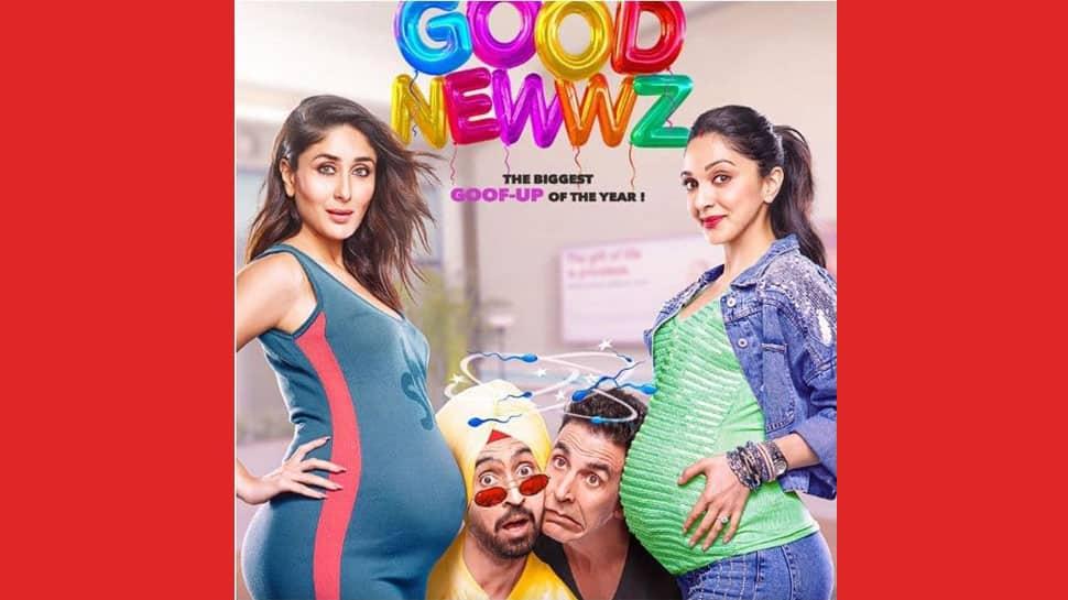 Kareena, Kiara, Akshay Kumar and Diljit Dosanjh show off their goofy side in Good Newwz posters