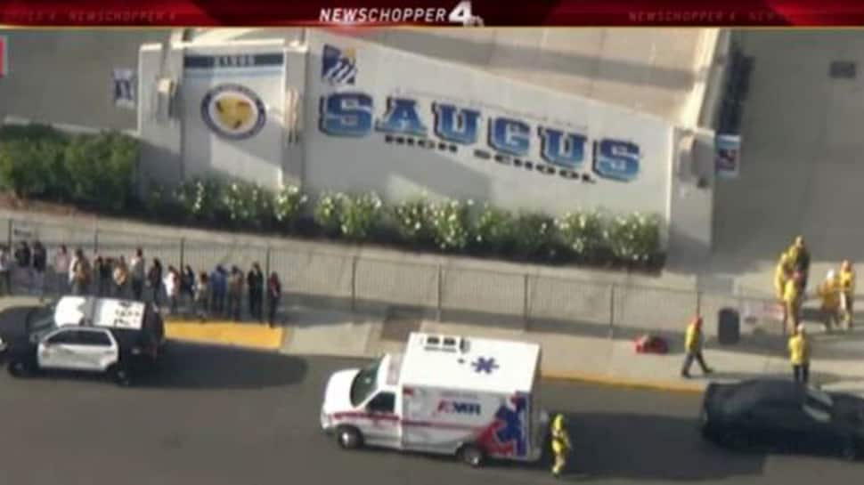 At least five wounded after shooting at California high school
