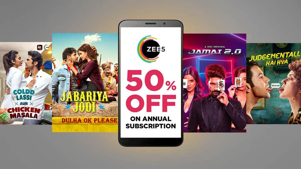 ZEE5 Global registers huge surge in subscription revenues with their festive pack offer