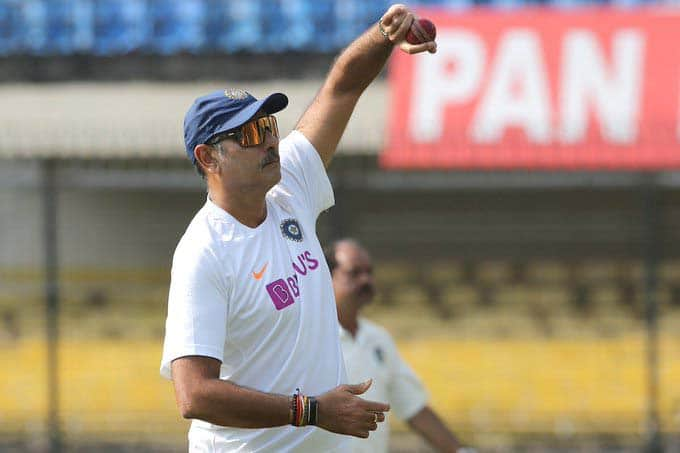 Ravi Shastri posts his bowling pictures, gets brutally trolled yet again
