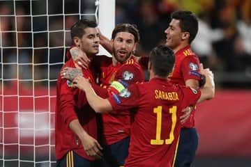Euro 2020 qualifiers: Superb Spain destroy Malta 7-0 to win group