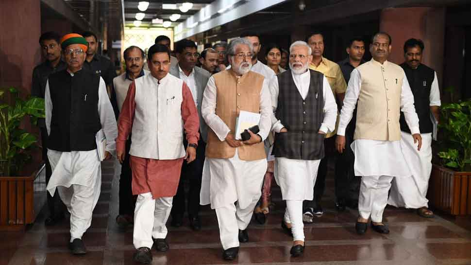 Look forward to productive Parliament session: PM Modi after all-party meet