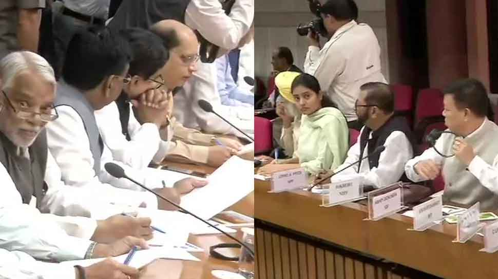 All-party meeting concludes; farmers' woes, unemployment, air pollution among key issues raised