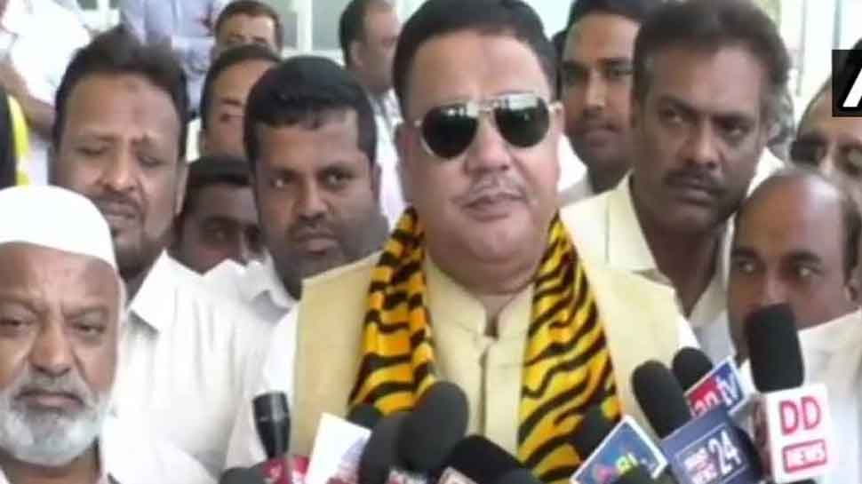 Congress MLA Tanveer Sait attacked with sharp object in Mysuru