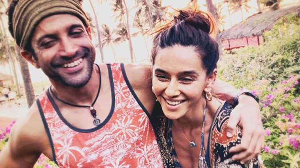 Farhan Akhtar shares ladylove Shibani Dandekar's throwback candid video—Watch