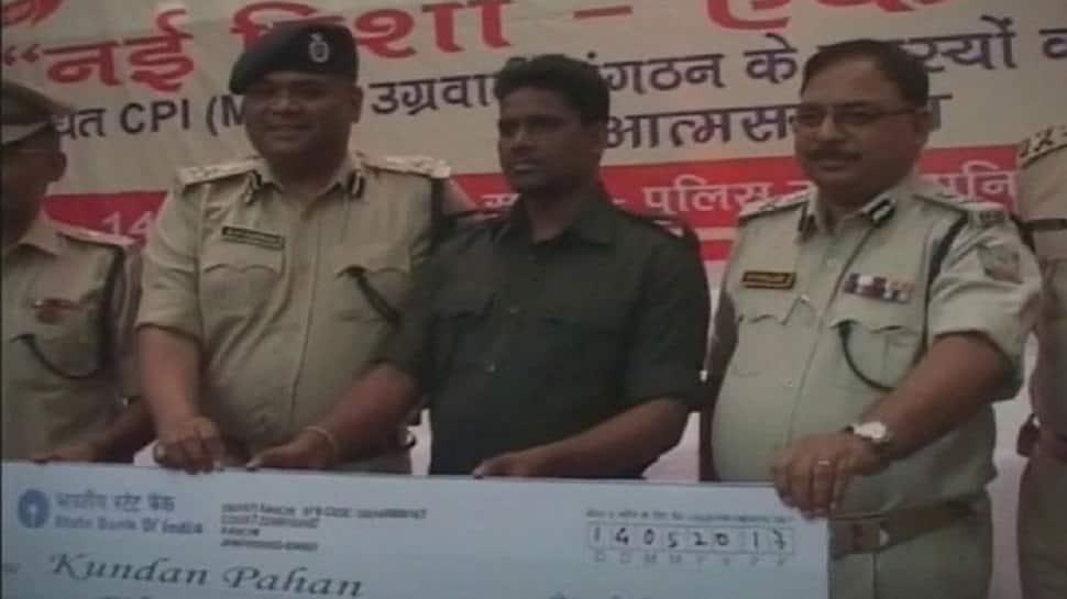 Jailed Maoist Kundan Pahan files nomination for Jharkhand polls