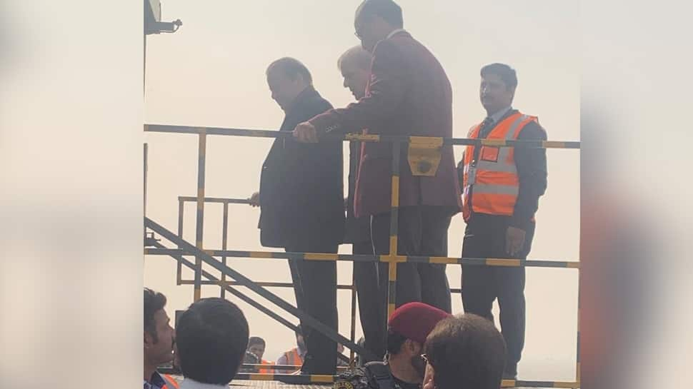 Convicted former Pakistan PM Nawaz Sharif leaves country for medical treatment in London