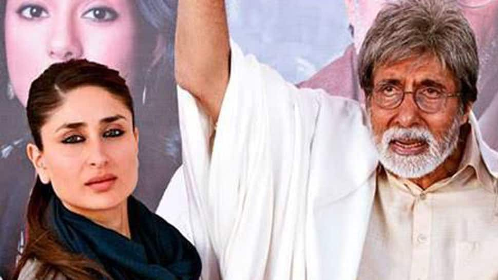 This picture of baby Kareena Kapoor and Amitabh Bachchan is breaking the internet