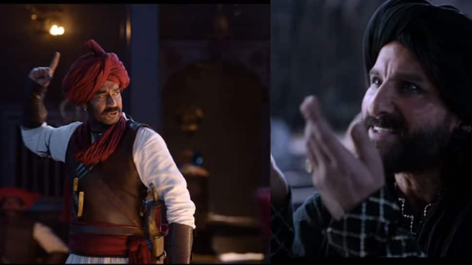 Tanhaji trailer review: Ajay Devgn-Saif Ali Khan's face-off in an epic battle of valour