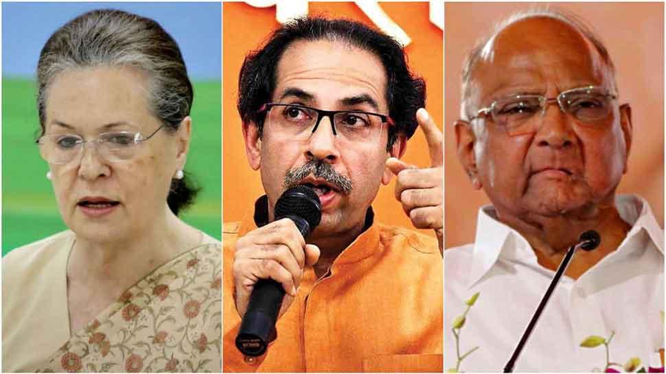 Amid Maharashtra deadlock, Sonia Gandhi meets top Congress leaders