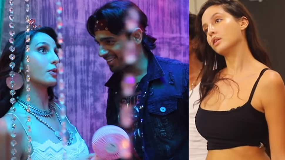 Nora Fatehi shares a BTS video from 'Ek Toh Kum Zindagani' song—Watch
