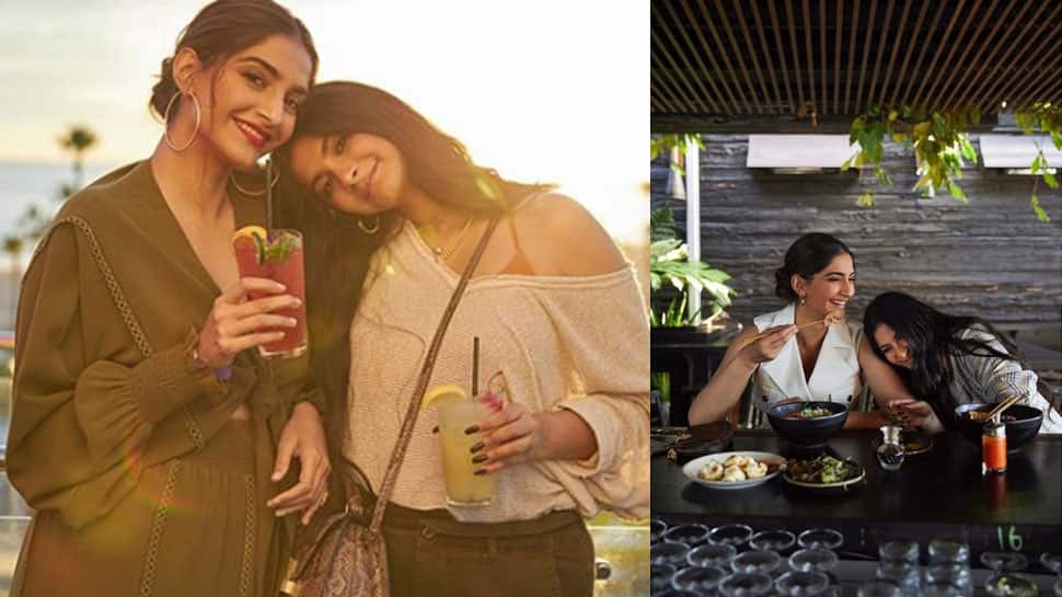 Sonam Kapoor and Rhea Kapoor prove siblings are the best travel partners in these pics from Los Angeles!