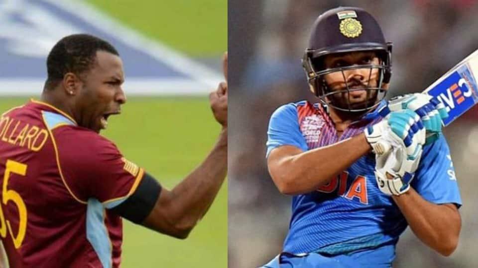 Kieron Pollard unfollows Rohit Sharma on Twitter ahead of India-West Indies series