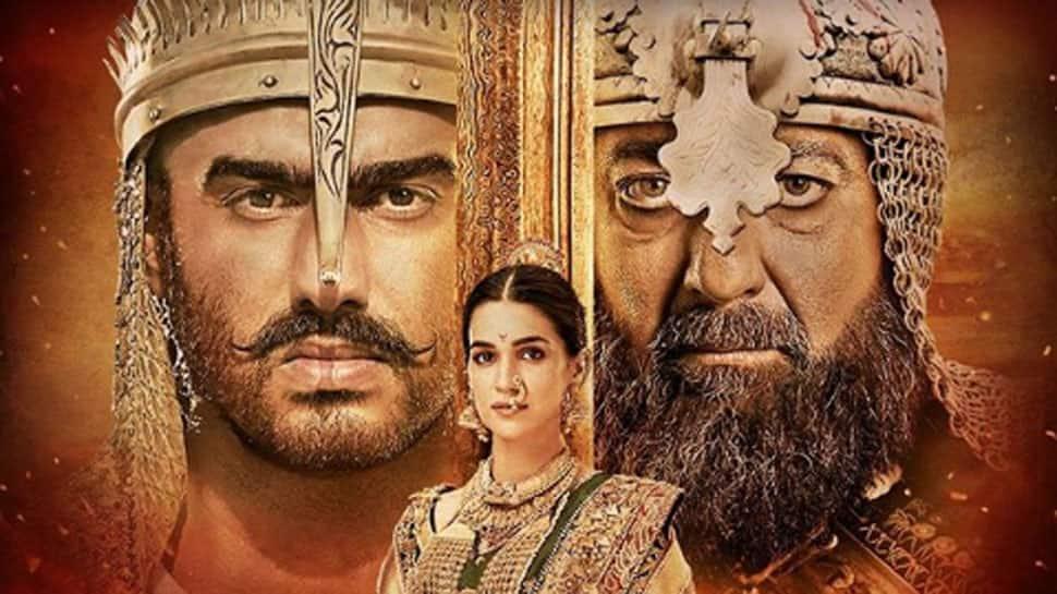 Arjun Kapoor-Sanjay Dutt look impressive in new 'Panipat' poster
