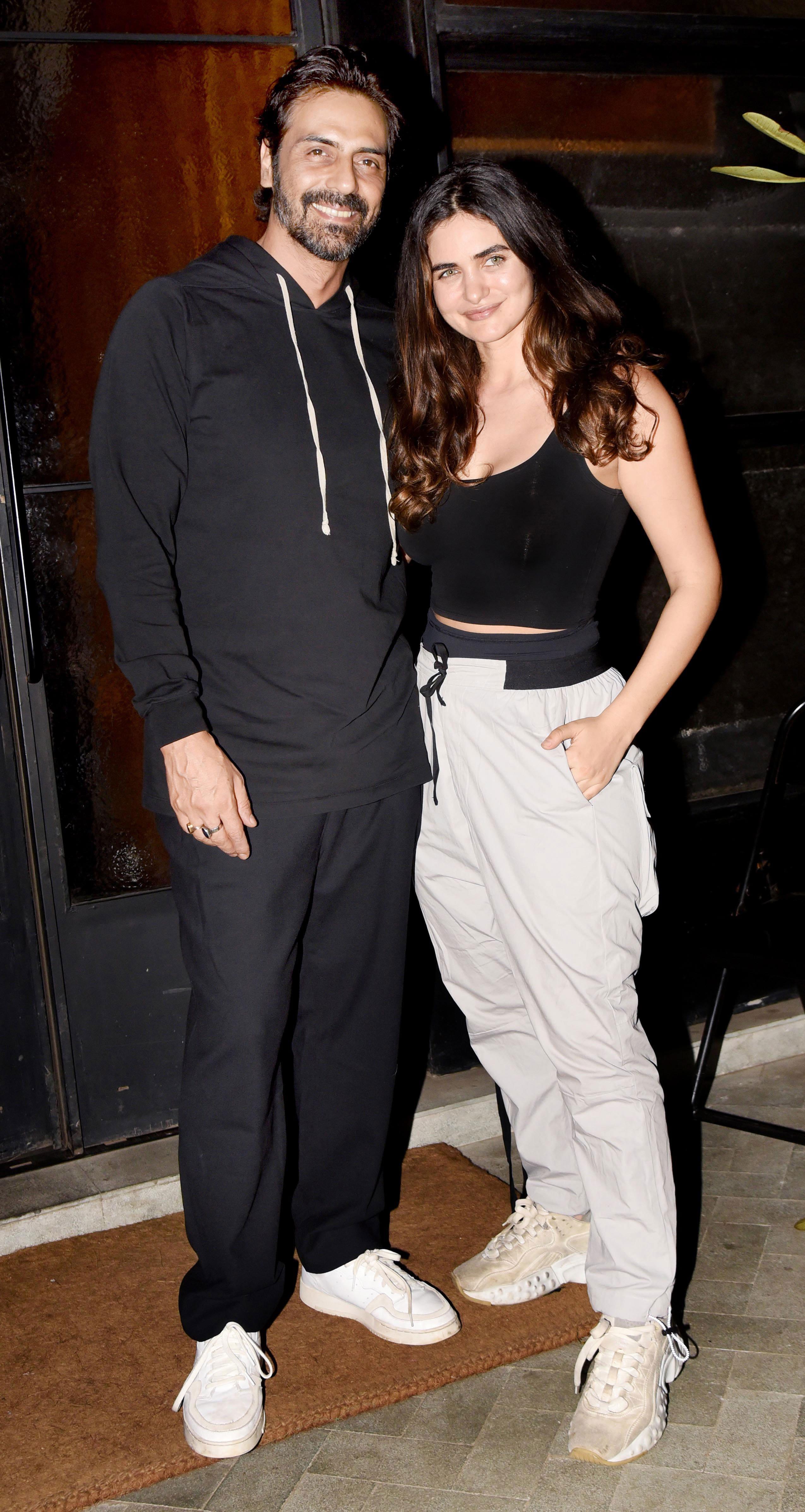 Arjun Rampal and Gabriella Demetriades look fab together