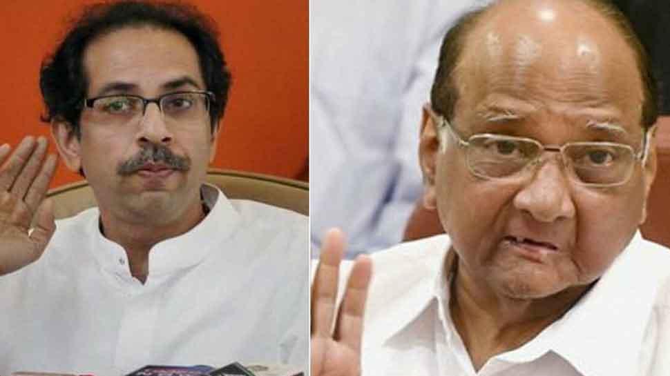 Uddhav Thackeray, son Aditya meet Sharad Pawar in Mumbai; Maharashtra alliance structure may be disclosed today