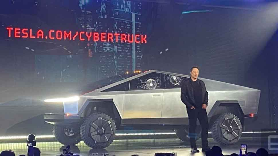 Tesla cybertruck launch: Tesla unveils electric 'cybertruck' in LA, first-ever pickup truck
