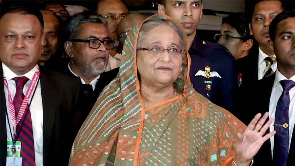 Came to watch 1st day-night Test on Sourav's invitation: Sheikh Hasina lauds BCCI president