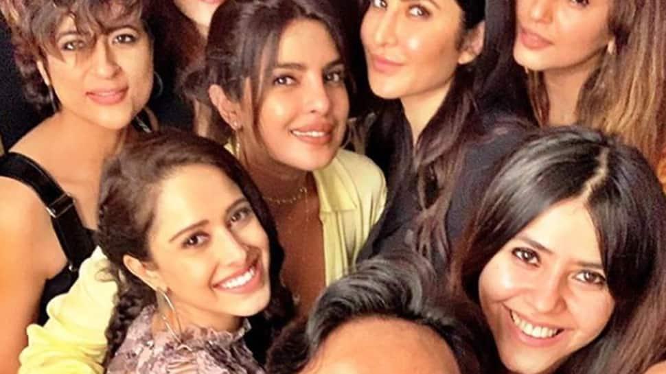 Priyanka Chopra, Katrina Kaif and others party with Ekta Kapoor- See pics