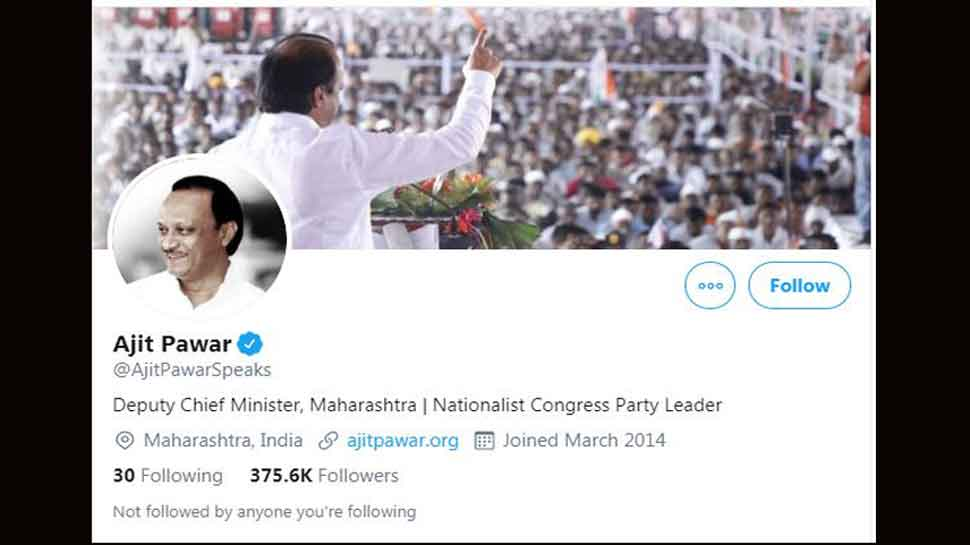 Ajit Pawar thanks PM Modi, changes his Twitter bio to Maharashtra Deputy CM, says he will always be in NCP