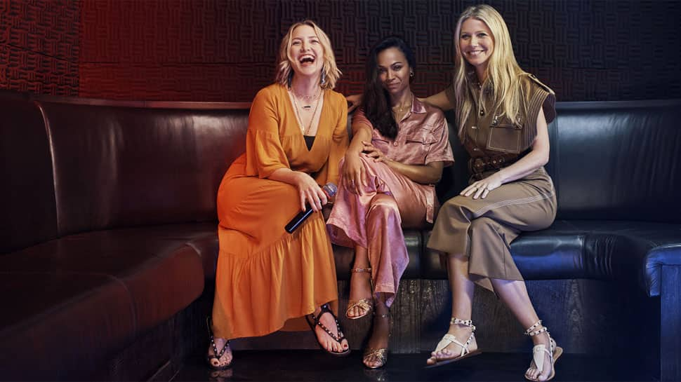 Gwyneth Paltrow, Kate Hudson, Zoe Saldana soak in Dubai spirit