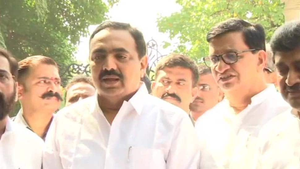 Congress-NCP-Sena submit letter of MLAs supporting alliance to Maharashtra Governor Bhagat Singh Koshyari