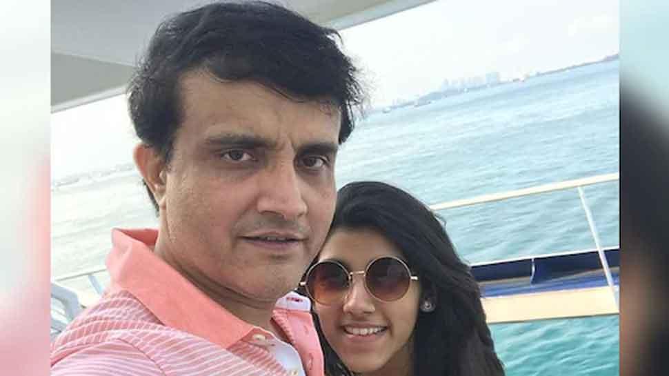 Sourav Ganguly's daughter trolls him on Instagram, their funny banter wins over internet