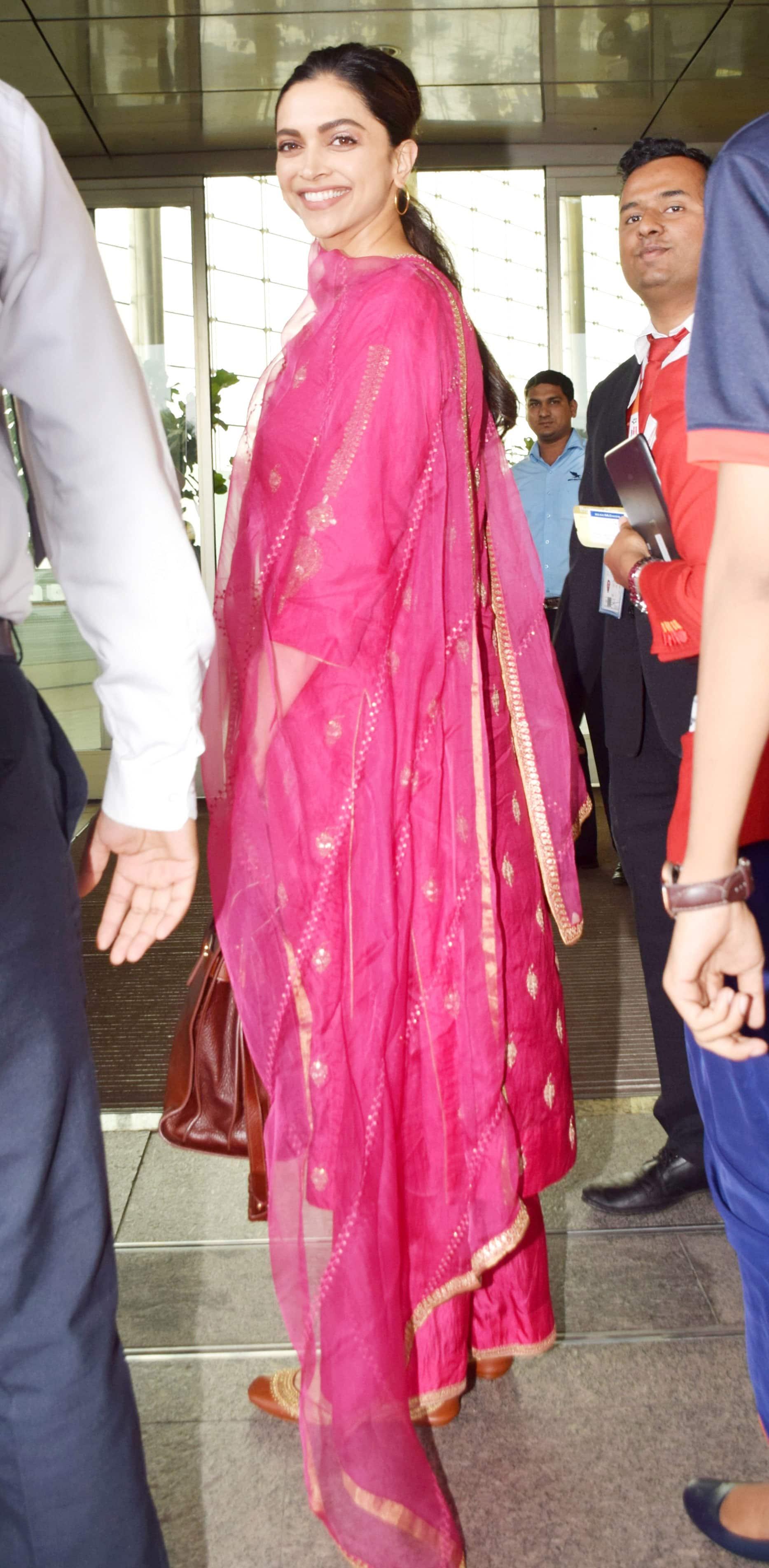 Deepika poses for clicks