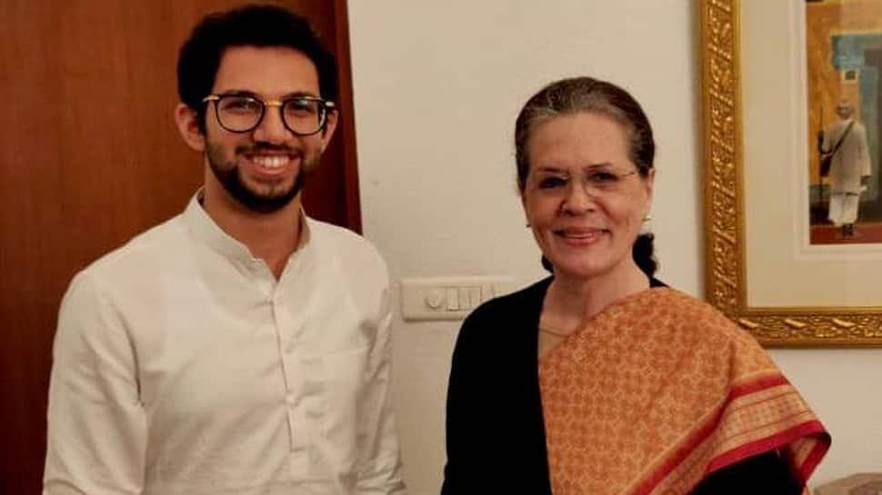 Aaditya invites Sonia Gandhi, Manmohan Singh for Uddhav Thackeray's swearing-in as Maharashtra CM