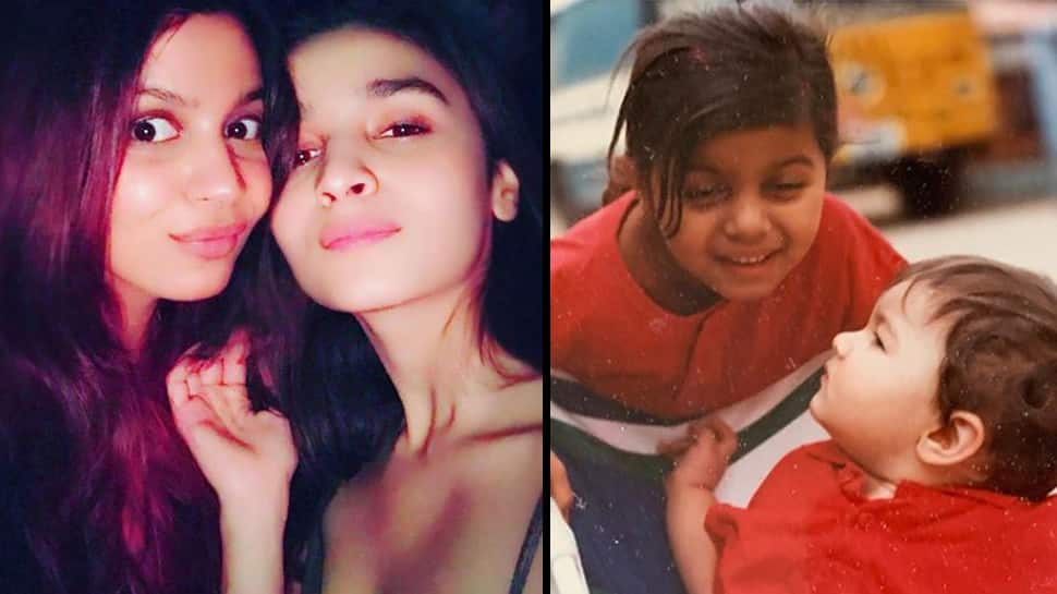 Alia Bhatt pens a heartfelt note on sister Shaheen's birthday, shares adorable childhood pics